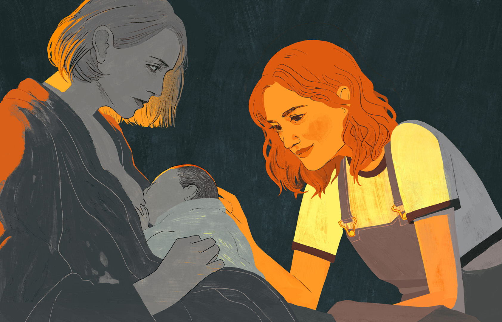 "THE NEW YORKER, <a href=""https://www.newyorker.com/magazine/2018/05/14/charlize-theron-explores-motherhoods-discontents-in-tully"">Charlize Theron Explores Motherhood's Discontents in ""Tully""</a>"