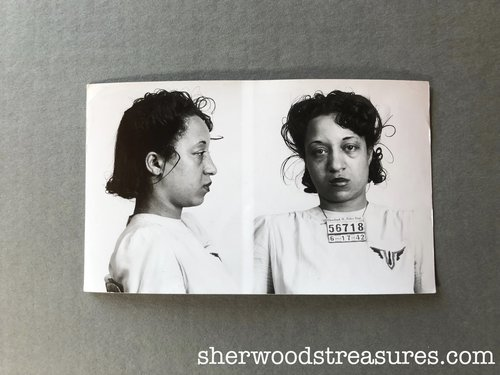 Mugshots 1930+ — Sherwood's Treasures