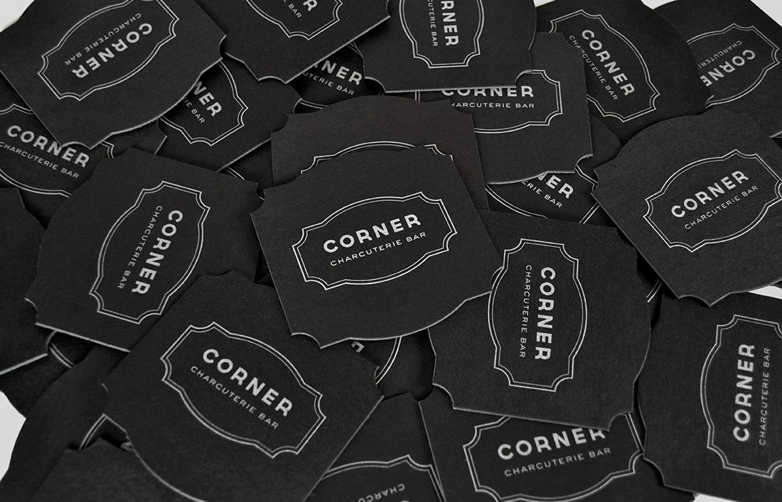 Corner Charcuterie Bar: Coaster Design