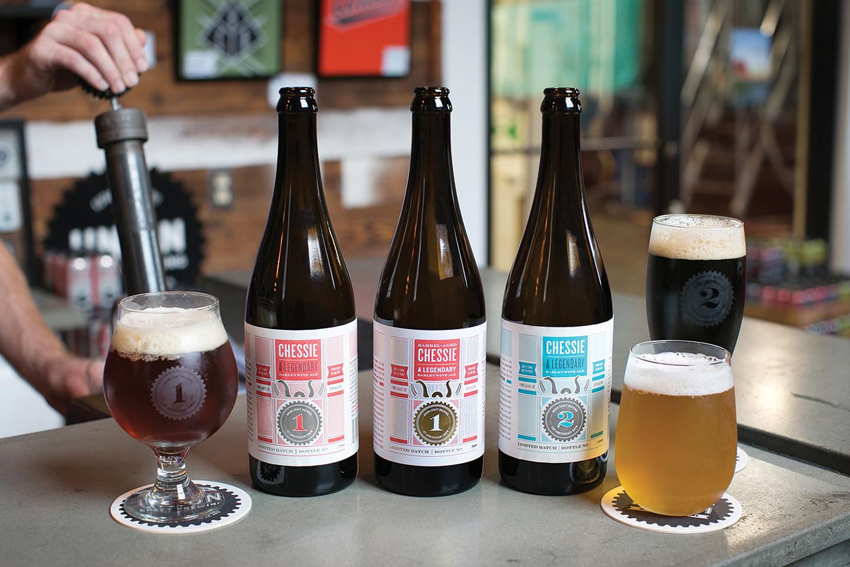 Union Craft Brewing: Anniversary Bottle Design