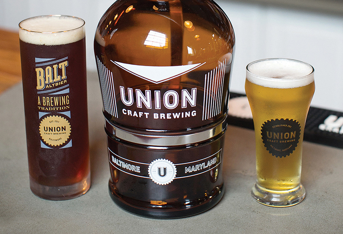 Union Craft Brewing: Glassware Design