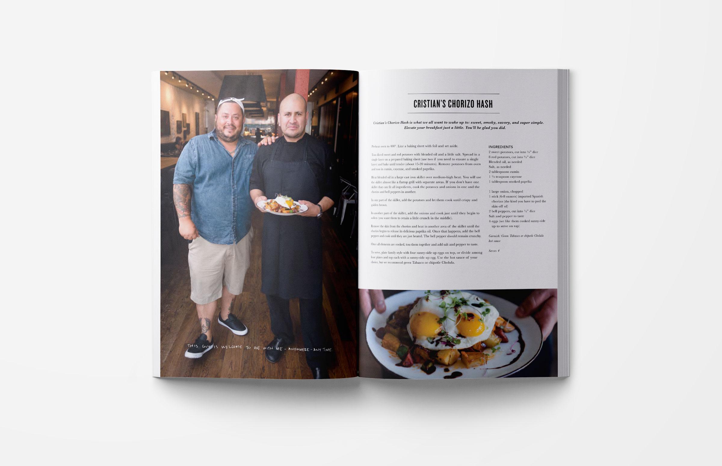 The Food Market: Cookbook Design