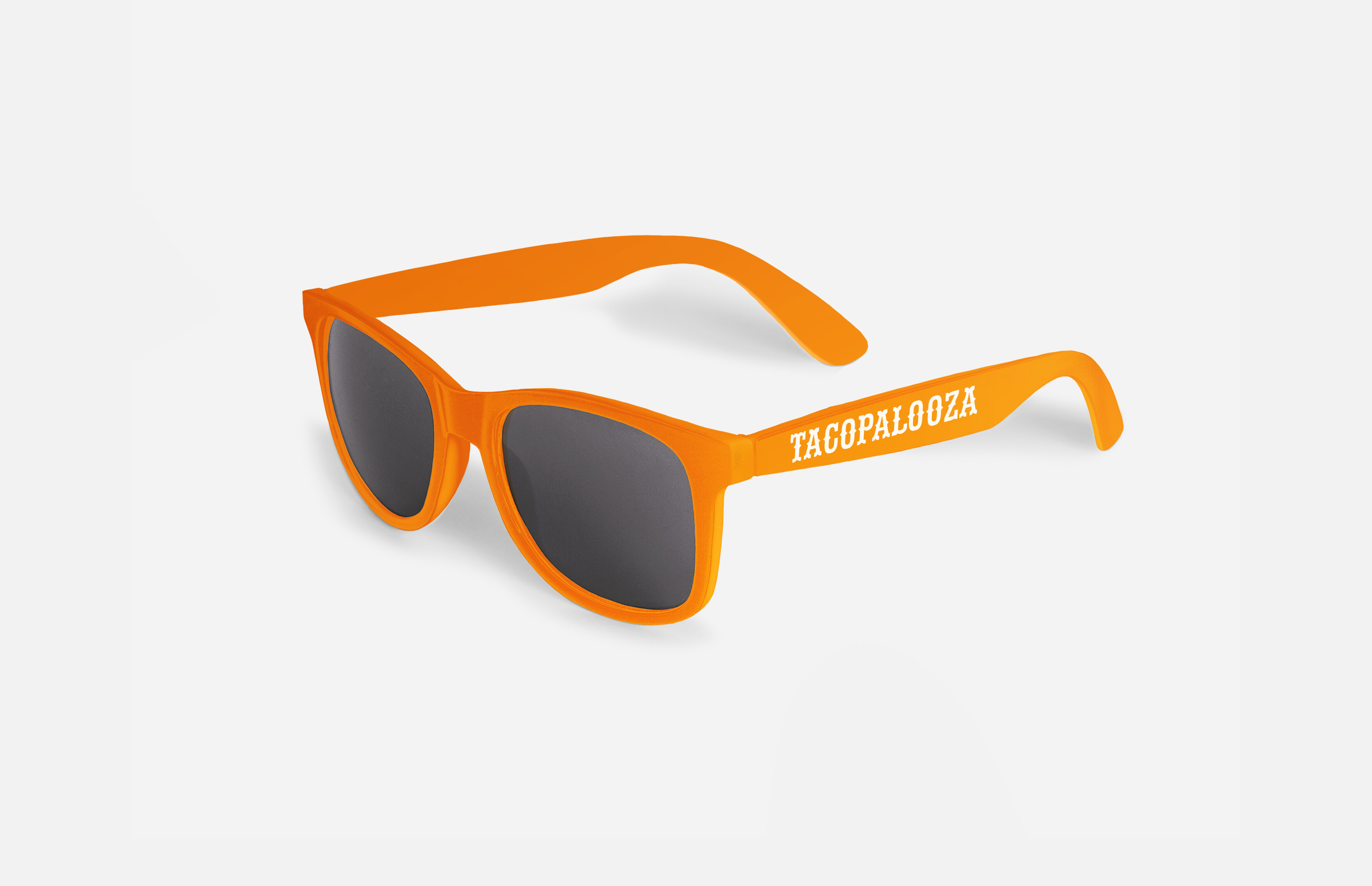 La Food Marketa: Tacopalooza Sunglasses Design