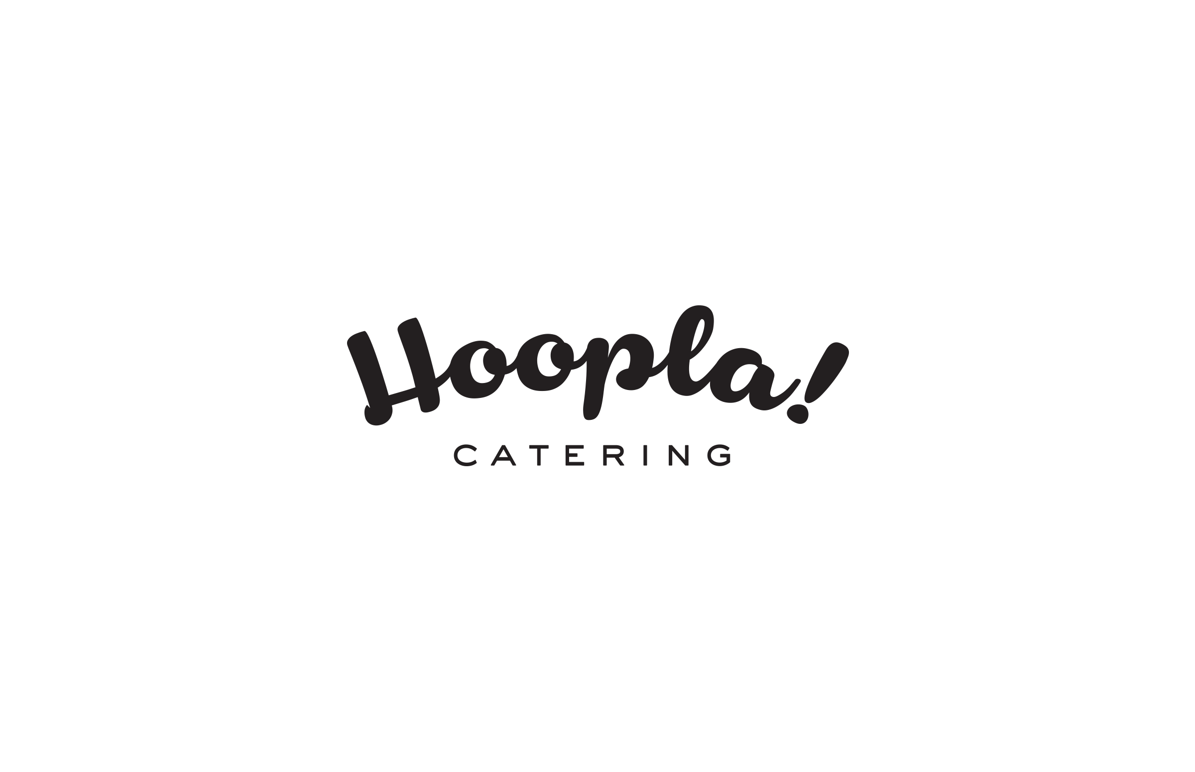 Hoopla! Catering: Logo Design