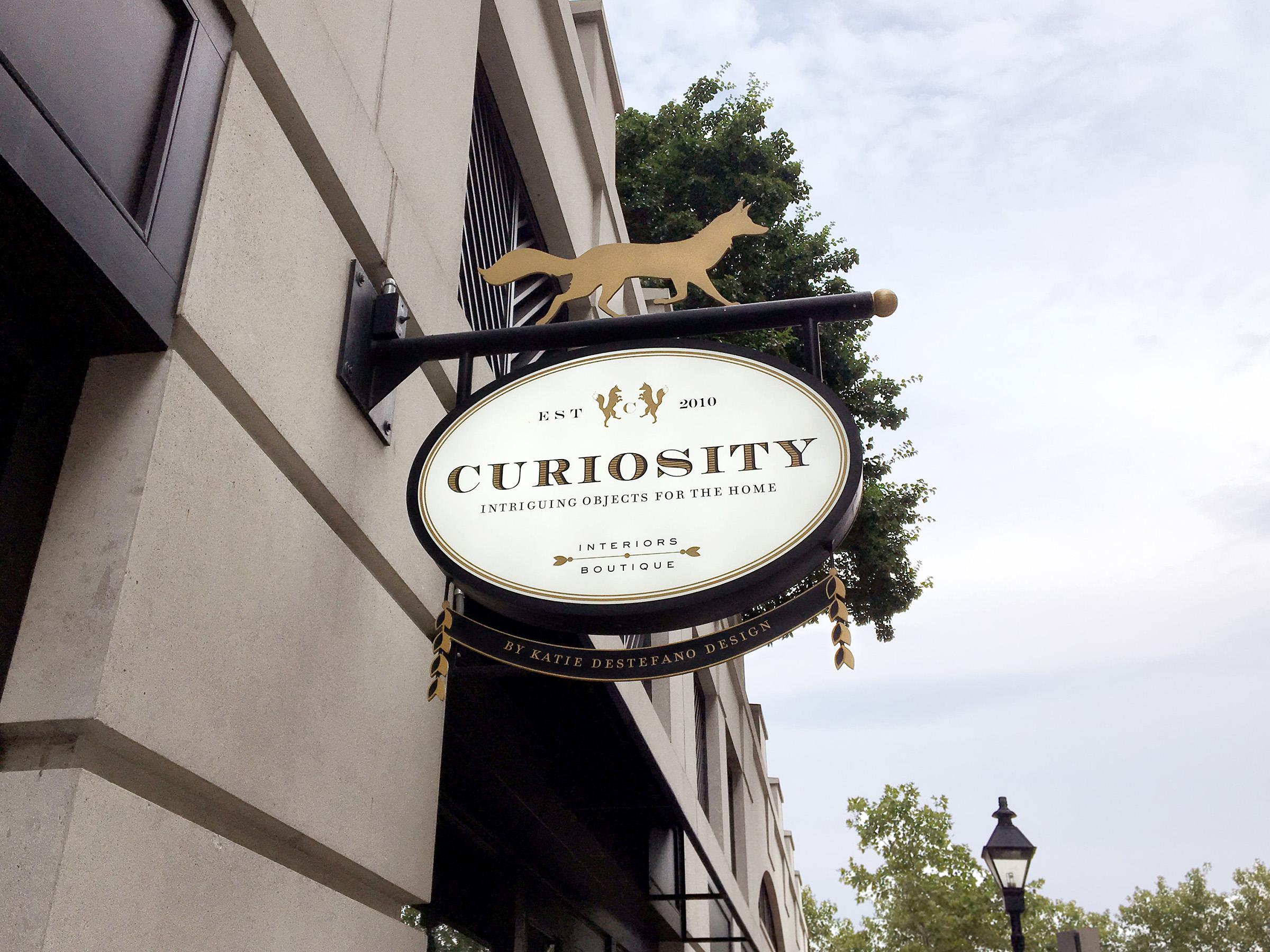 Curiosity: Outdoor Signage