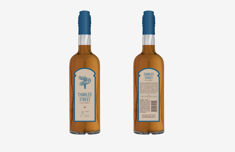 Baltimore Spirits Company: Charles Street Bottle Design