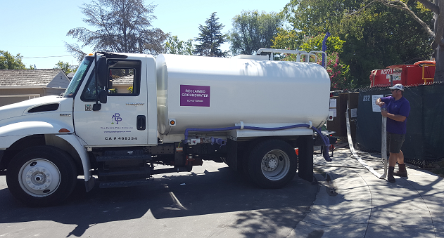 Purple Pipe Water Services recaptures the groundwater and uses it to replace potable water used on city landscaping