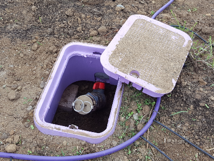 As the city installs more non-potable infrastructure such as water storage tanks and cisterns, we plan to shift our application method to more tank filling. This should allow us to save more groundwater and reducing our potable water dependence.