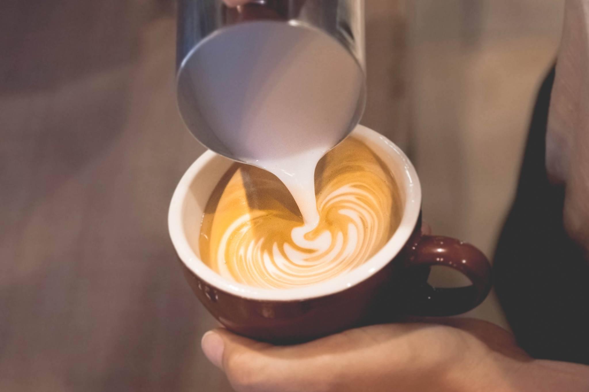 Latte Art Class at Heritage Roasting Co in Shasta Lake