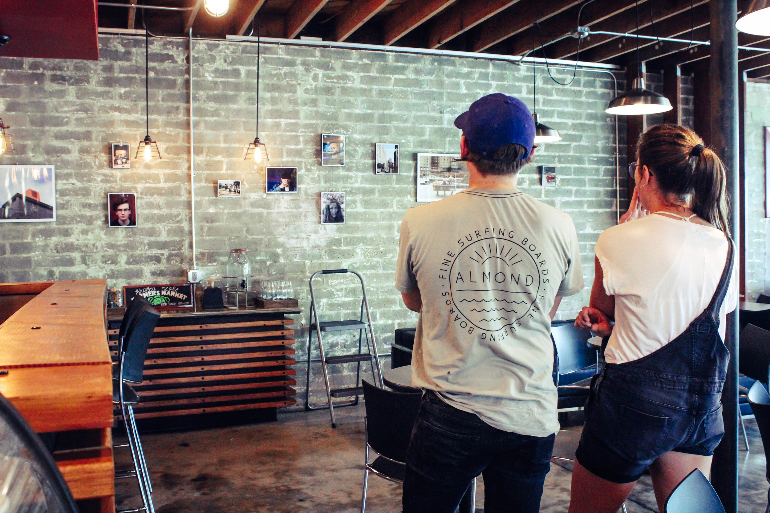 Its simple, we love art and want to see our local art culture grow! We do a monthly art rotation in the main coffee house space of Heritage(roaster just north of Redding) and special art events throughout the year!