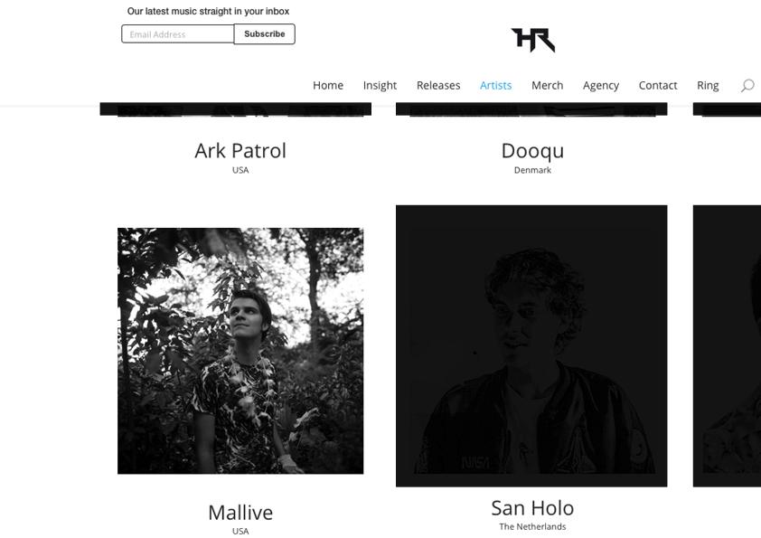 Mallive Press Pic, Heroic Recordings