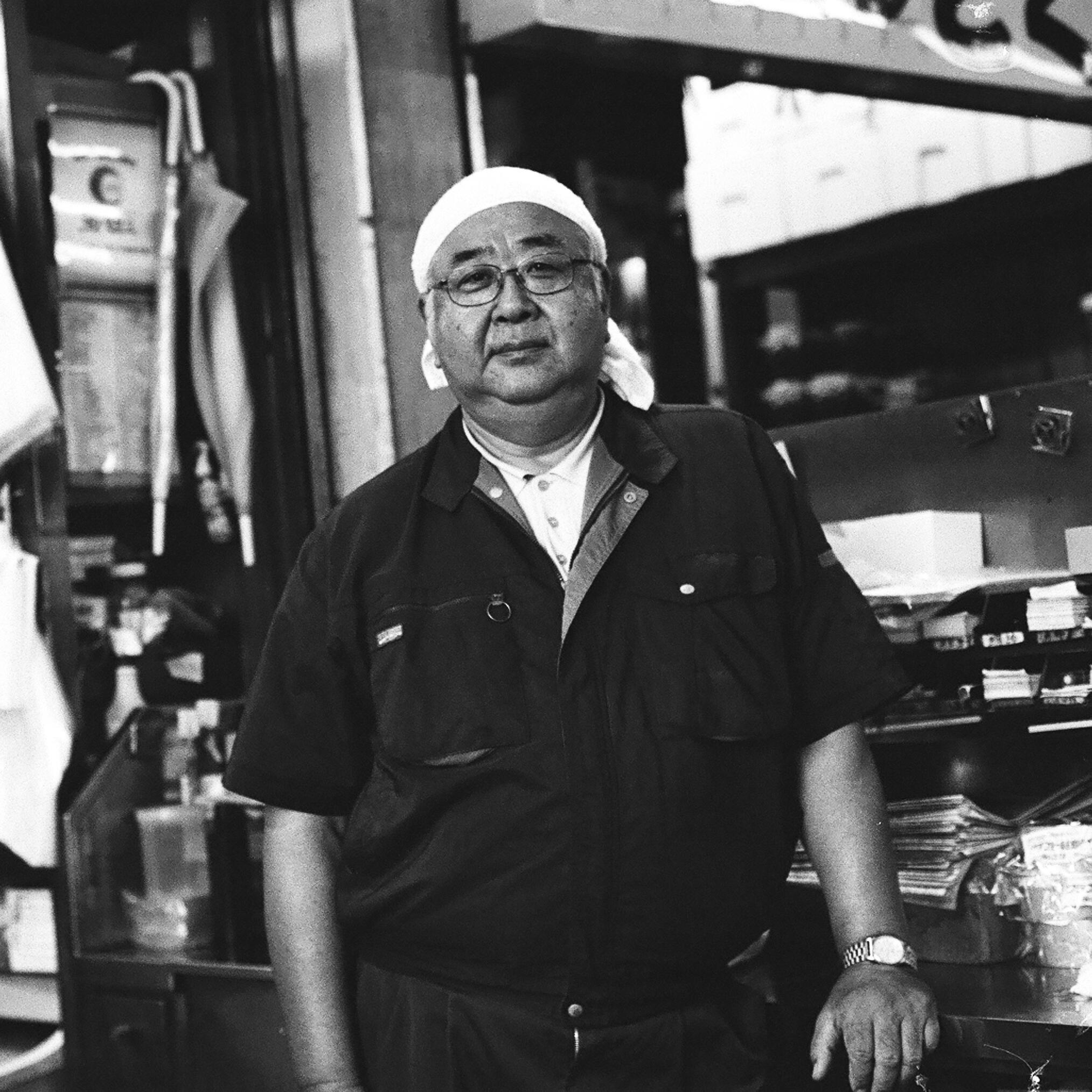 Tsukiji Fish Market, Tokyo, Summer 2014