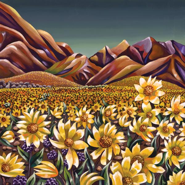 Death Valley Daisy Chain