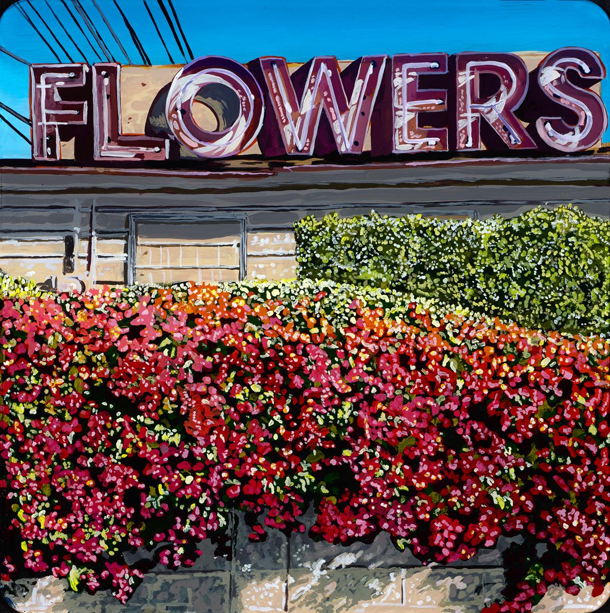 Flowers on Hillhurst