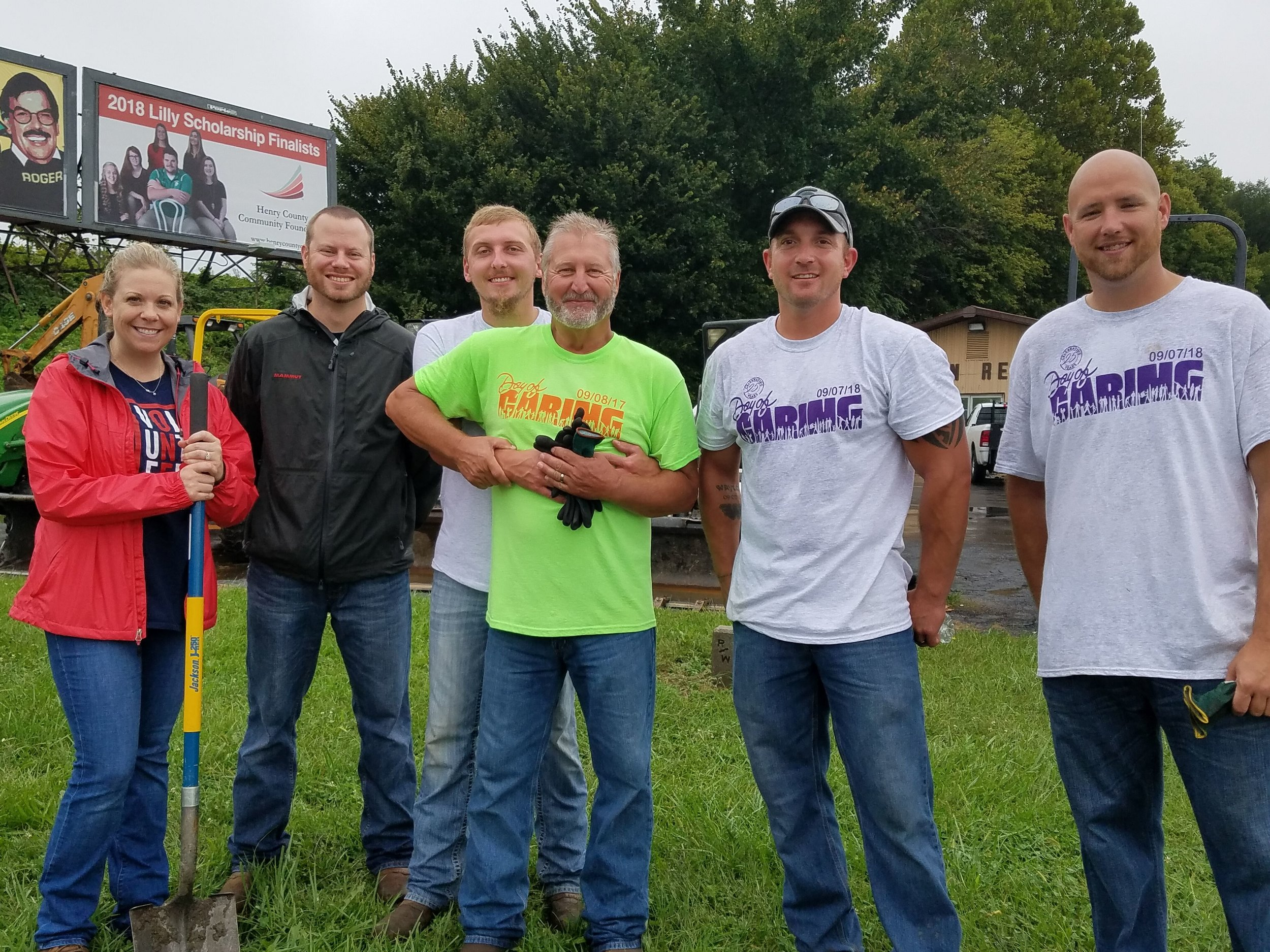 2018 Henry County Day of Caring Volunteers