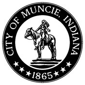 City of Muncie Black and White.png
