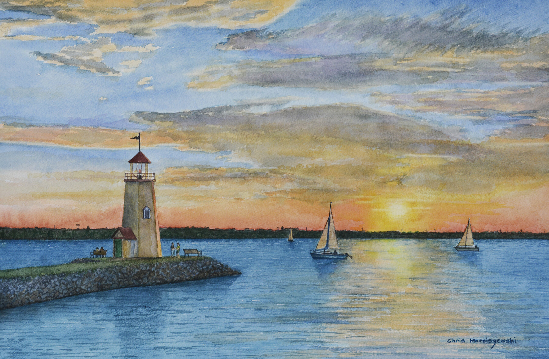 Lake Hefner Sunset 4-6.jpg