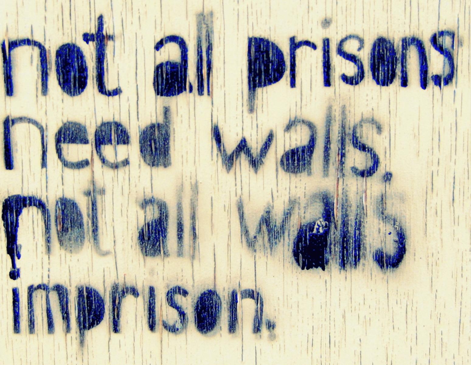 Kate Salvi,  prison , 2015.