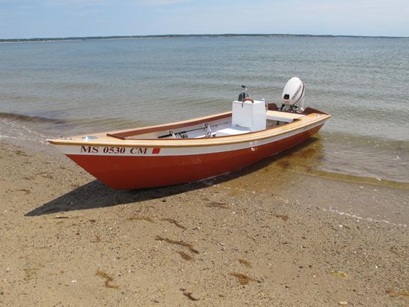 Nauset Marsh skiff
