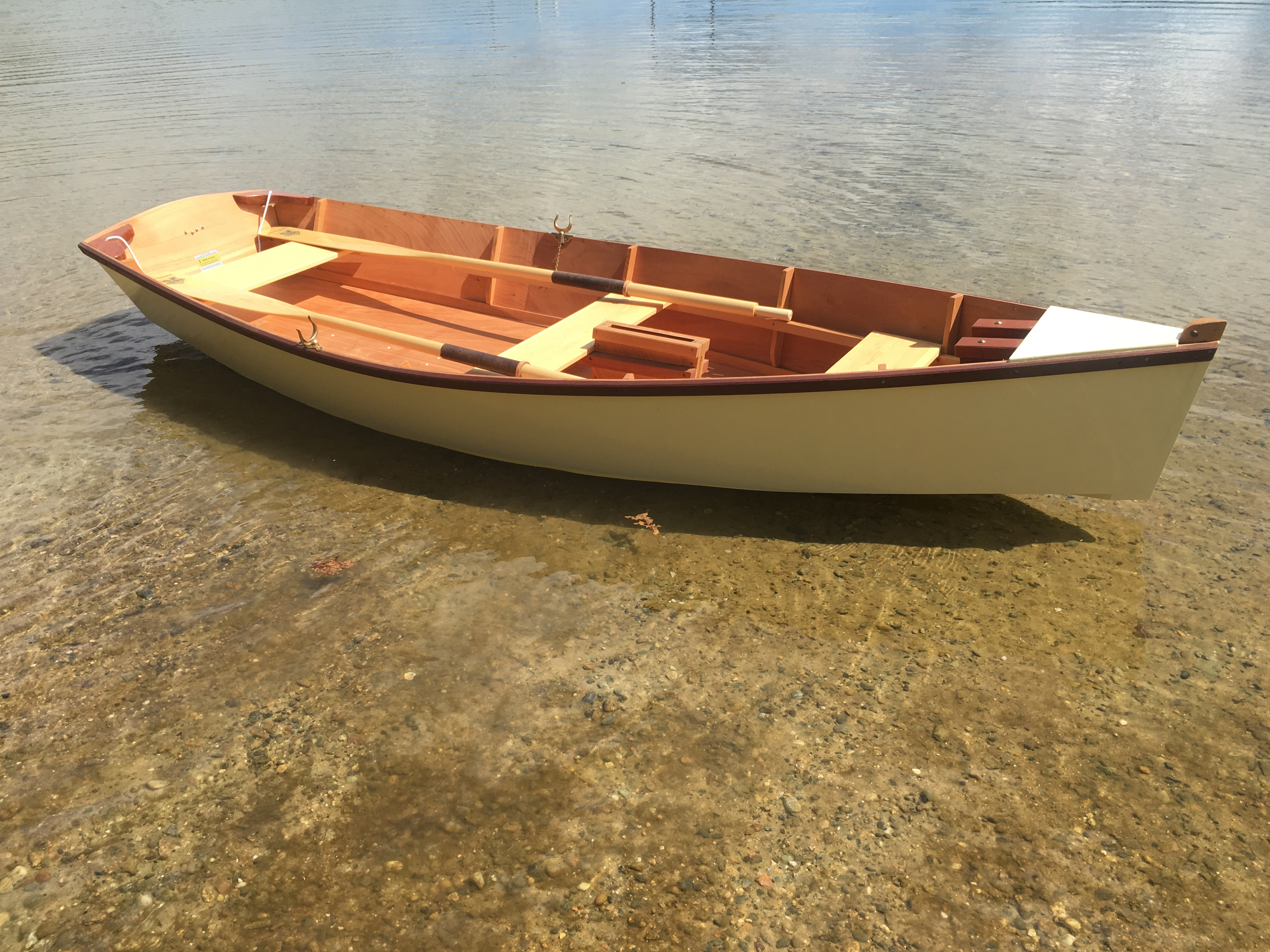 Bevin's skiff on Gull Pond