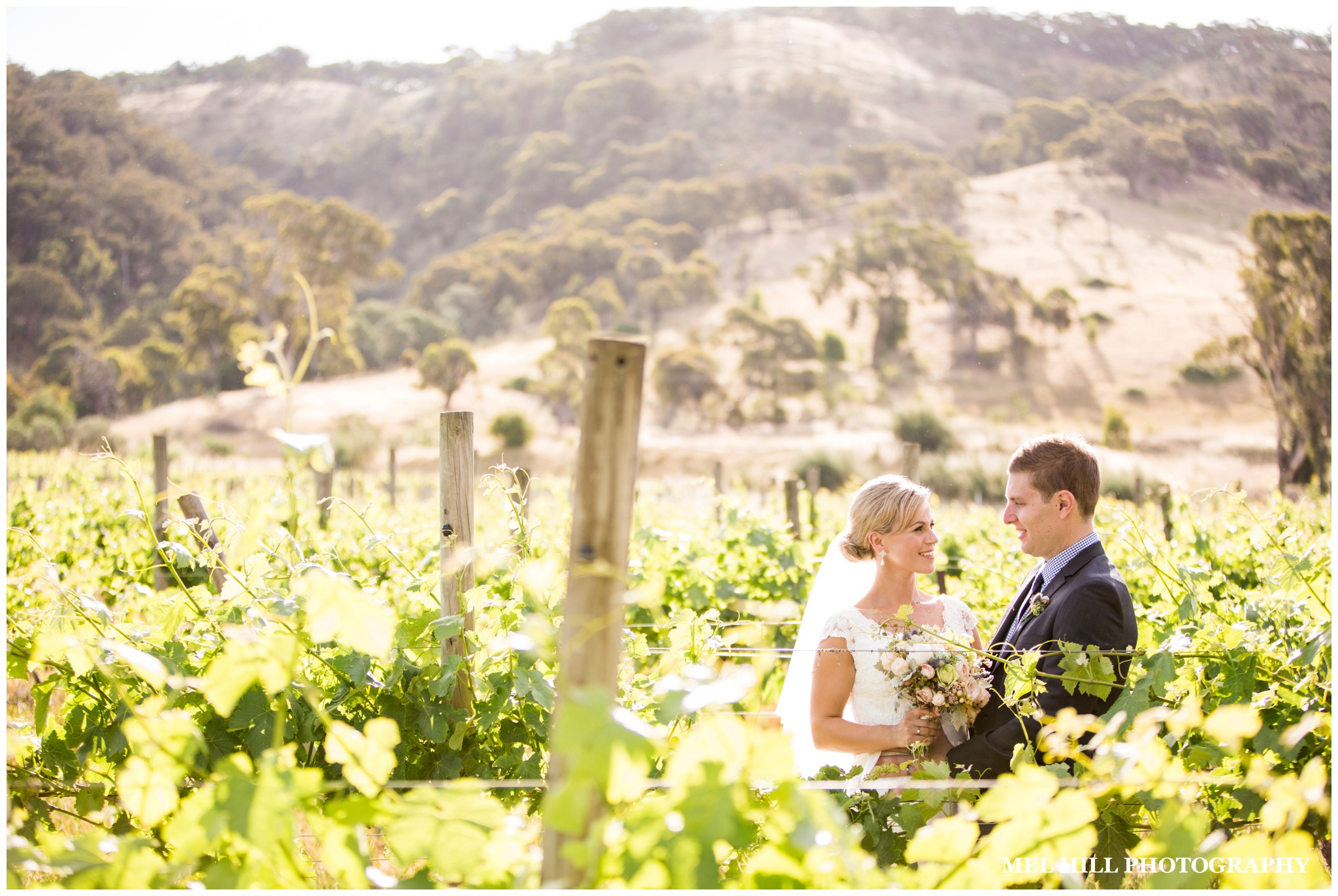 Wedding photography at Lake George Winery near Canberra