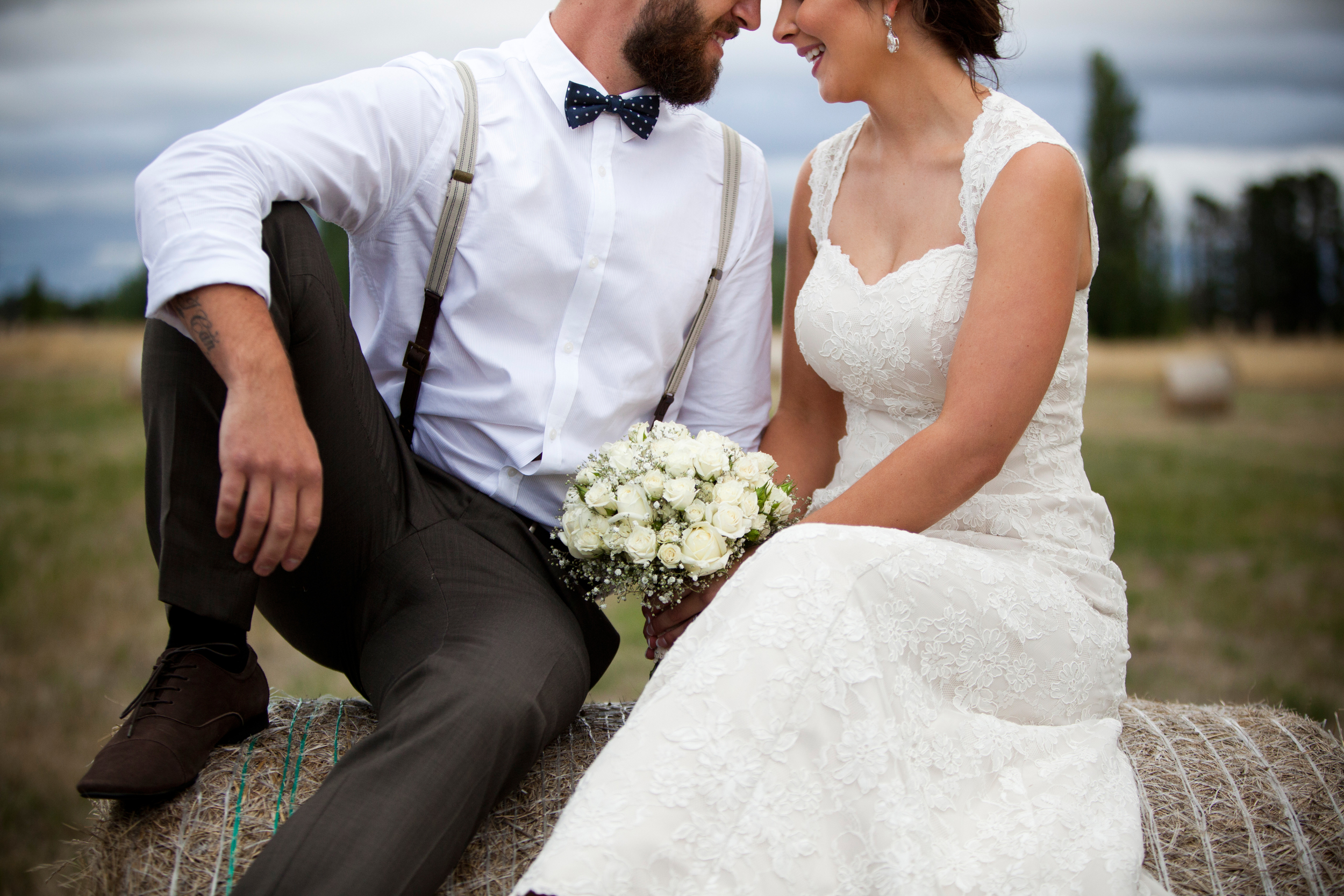 Wedding Photography at Grazing near Canberra