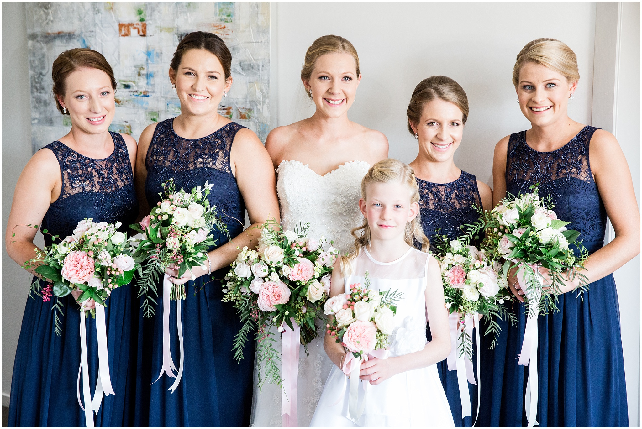Bridesmaid Portrait - Gold Creek Wedding