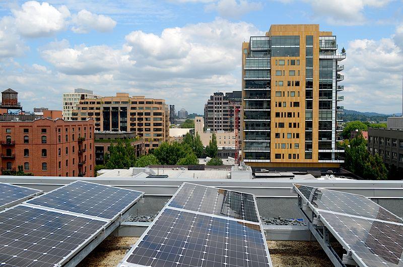 Solar Social + Silent Disco - Twende Solar - August 25, 2016 - Vestas Downtown Portland, OR