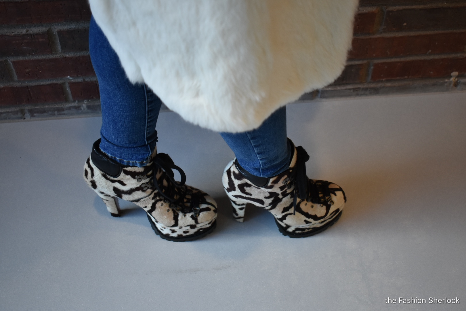 These Alaia boots are from a few years back, but it's one of those styles you can bring back out and it never feels old.