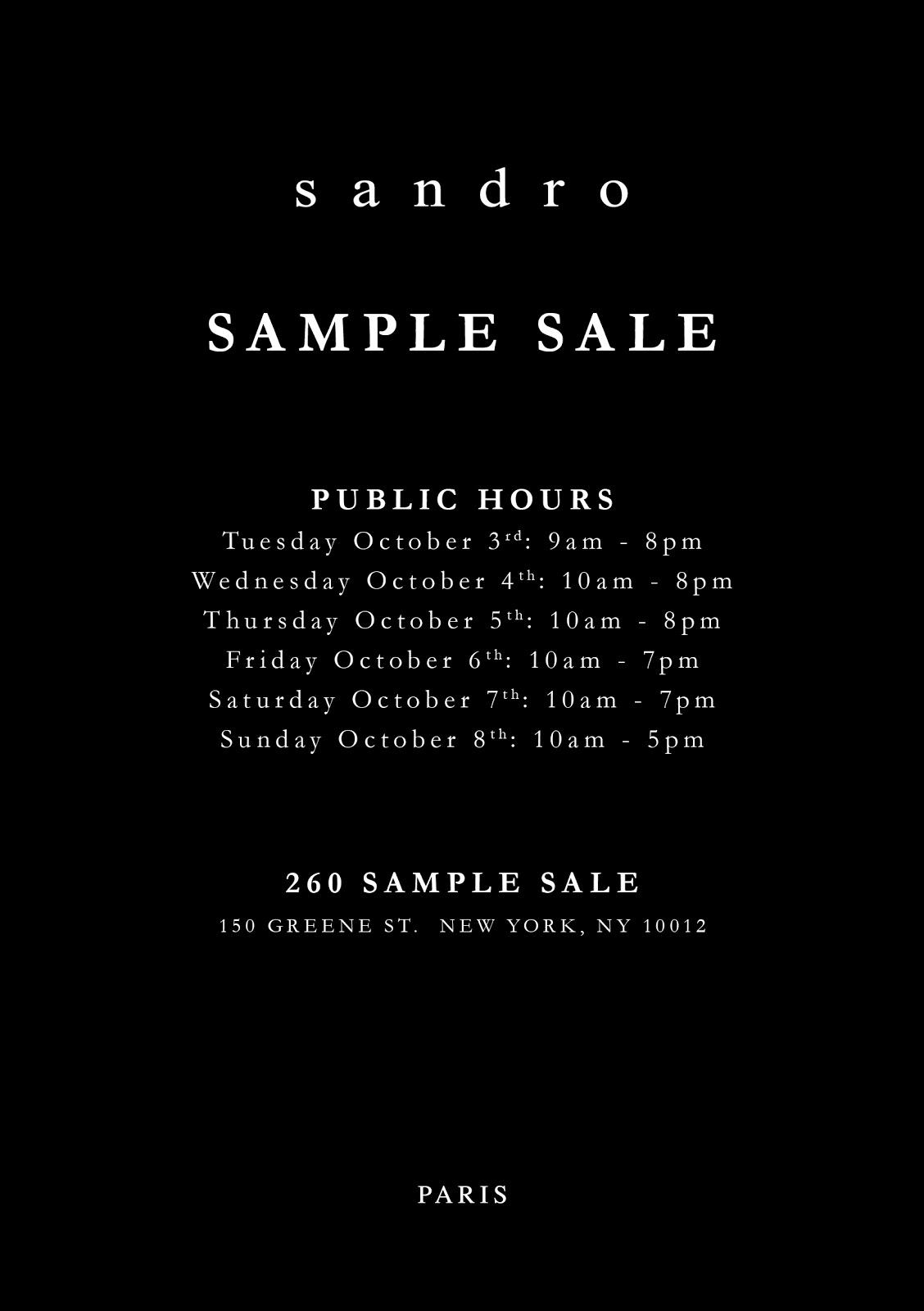 Sandro 260 Sample Sale Fall Evite Public.jpg