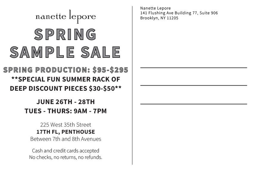 Nanette Lepore Sample Sale- New York sample sale.jpg