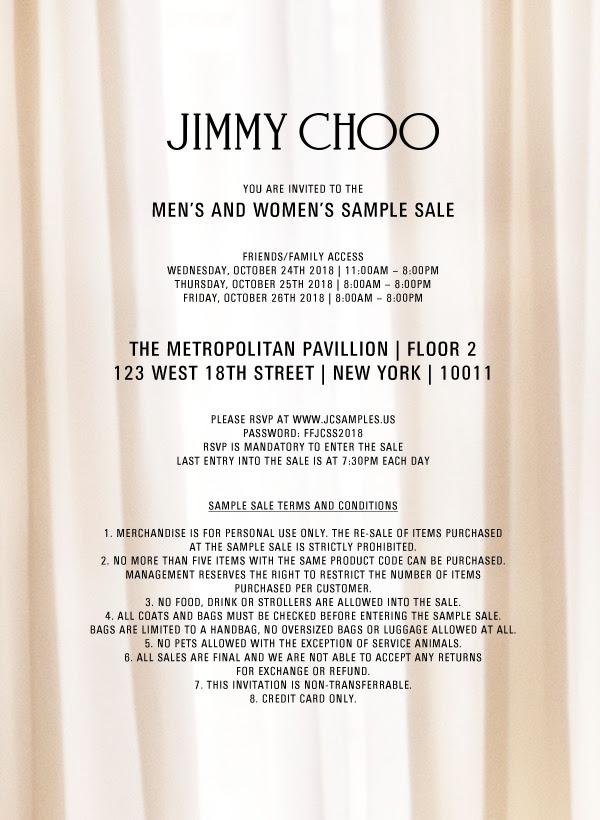 Jimmy Choo Sample Sale.jpg