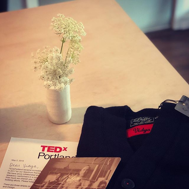 This made my day!! Thank you so much for the thoughtful gift, I have so much 💝 for the #tedxpdx community. Love you @canadavid can't wait for the moda center!! #tedx #tedxpdx #tedxpdx2019 #tedxtalks