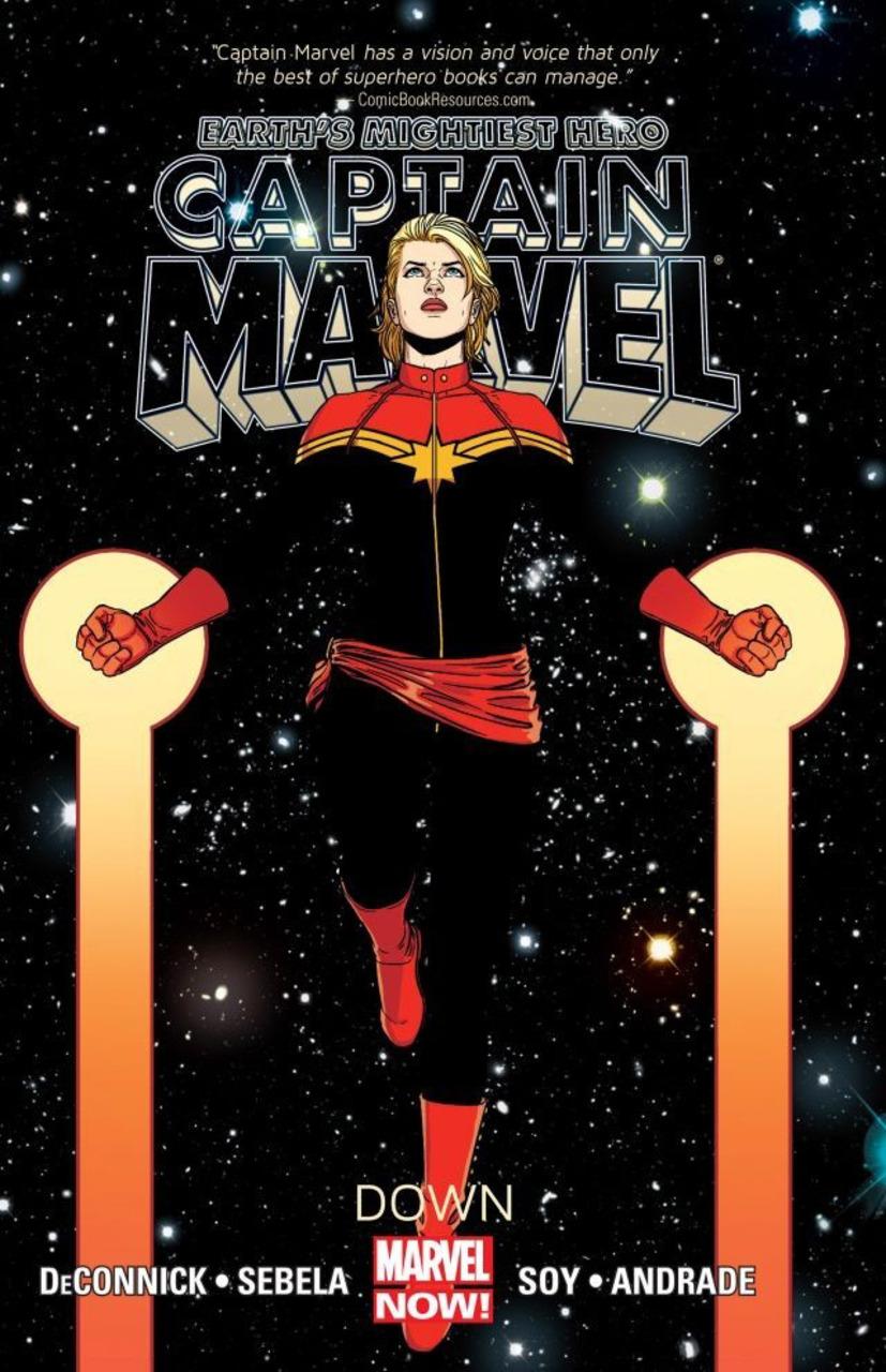 Captain Marvel, Vol. 2: Down