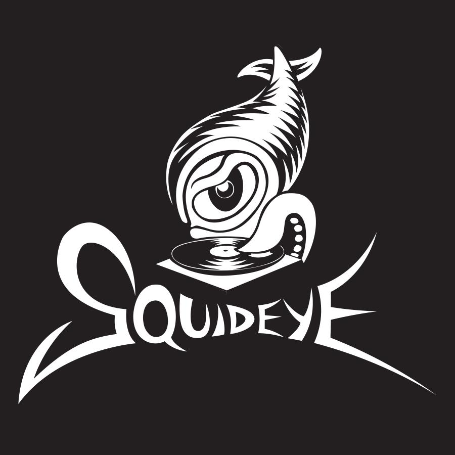 Logo for DJ Squideye  2015 digital