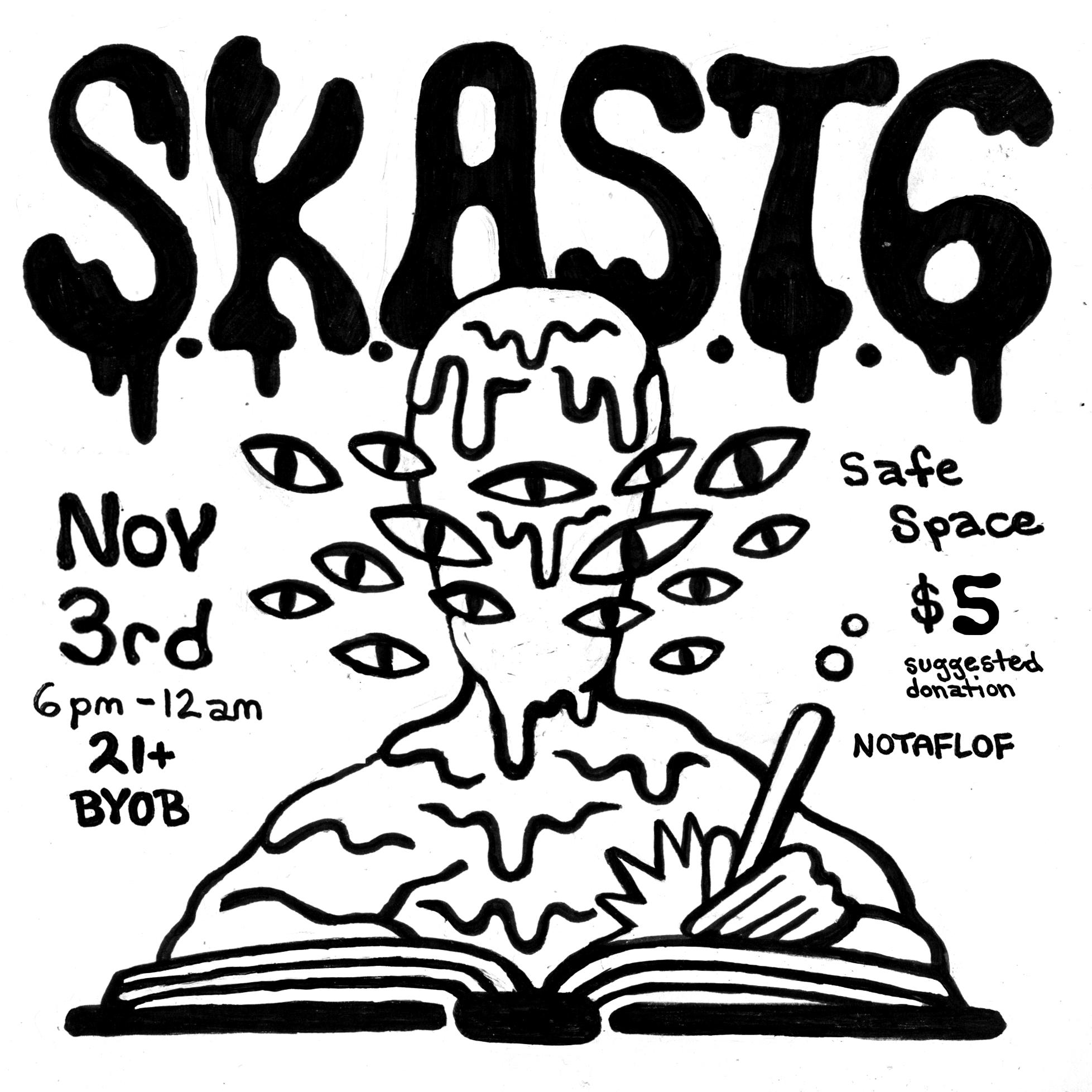 Flyer Design for S.K.A.S.T. 6  2018