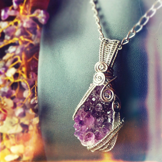 Click to purchase And Zen Some's habit-breaking Amethyst Wrap.