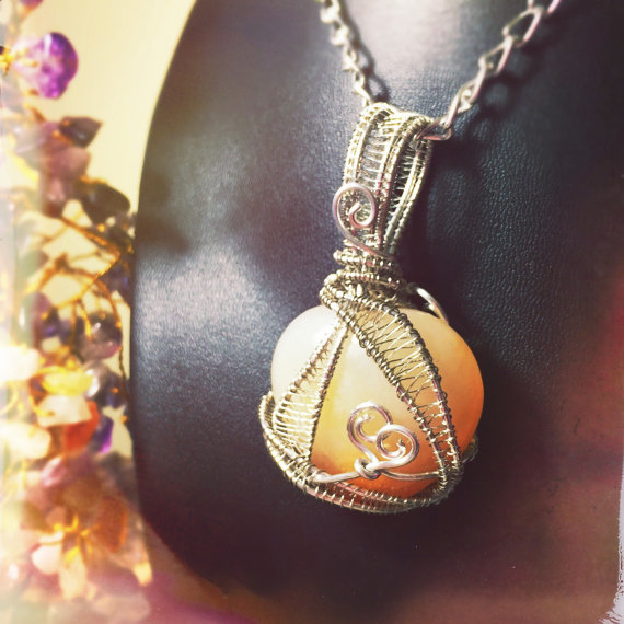 Click to purchase And Zen Some's motivating Carnelian Wrap.