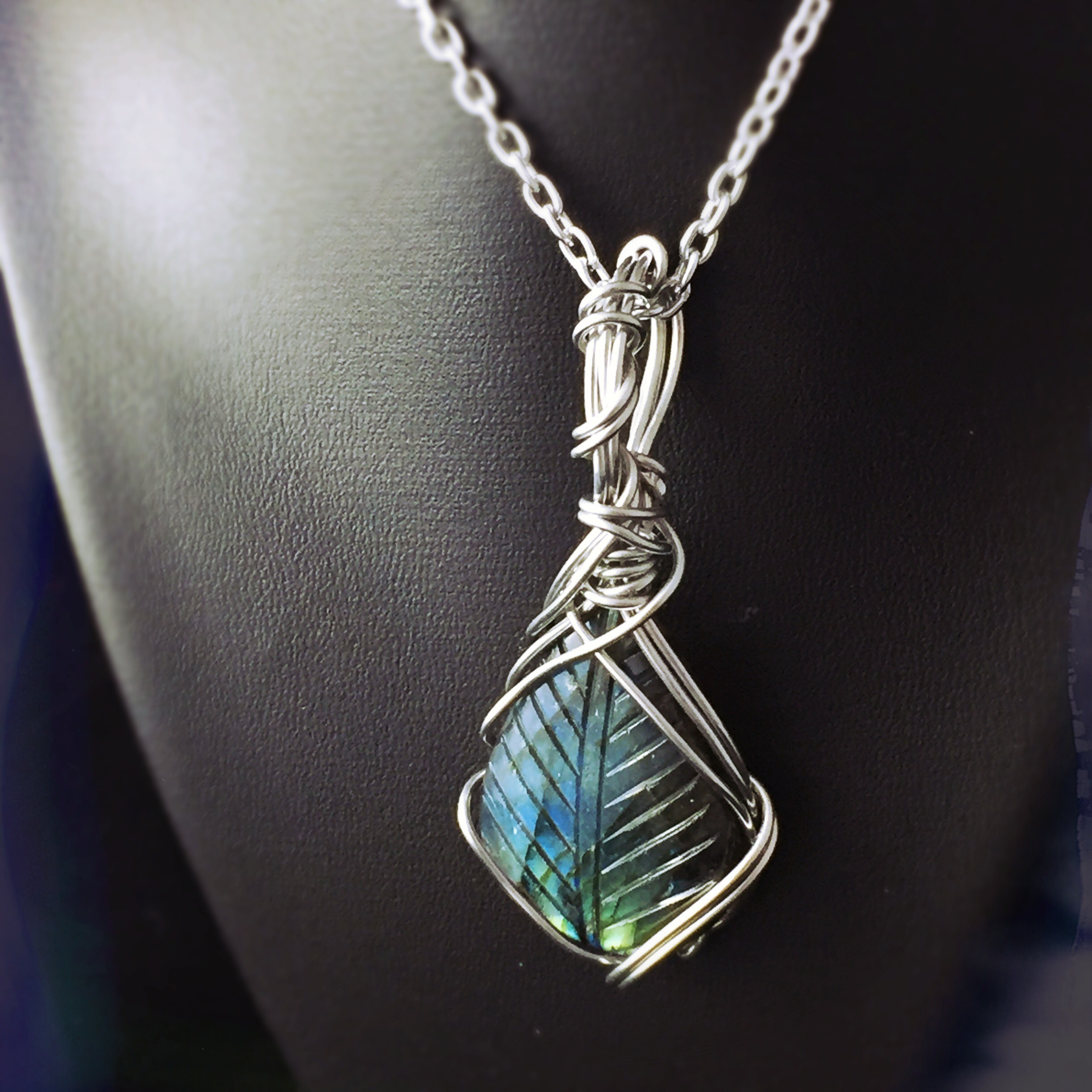 All Scorpios should protect their energy. Wear this one of a kind And Zen Some Labradorite necklace to help you do that!