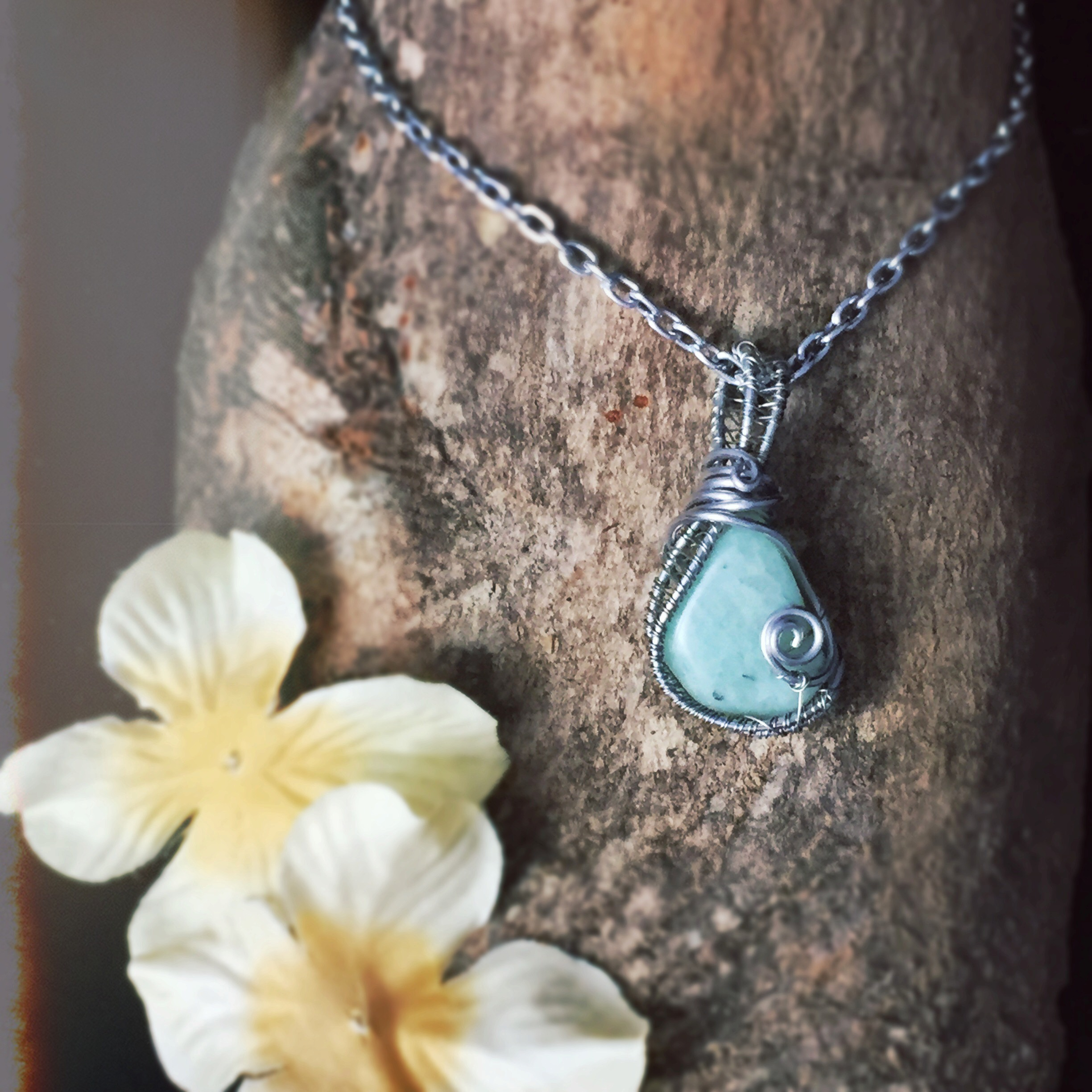 Amazonite is an amazing healing crystal for Aquarius! Snag this beauty from And Zen Some