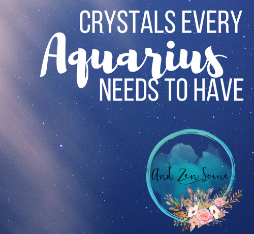 Are you an Aquarius? Check out which healing crystals are perfect for your zodiac sign!