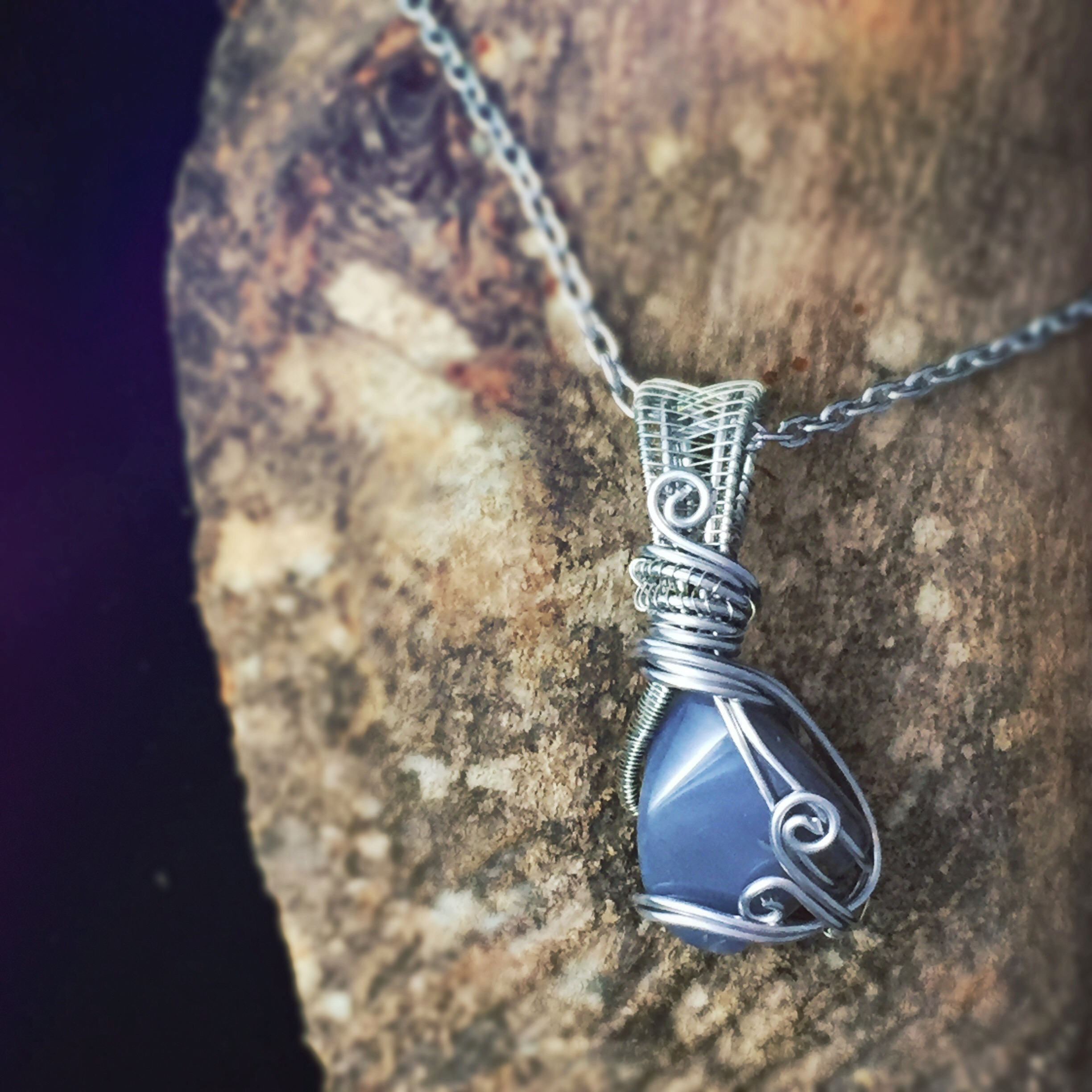 Grab this grounding stone, Botswana Agate here! This necklace is perfect for libra energy.