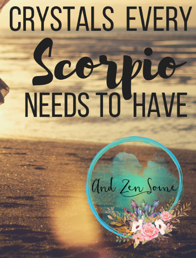 Are you a Scorpio? If so, you NEED these healing stones for your one of a kind energy.