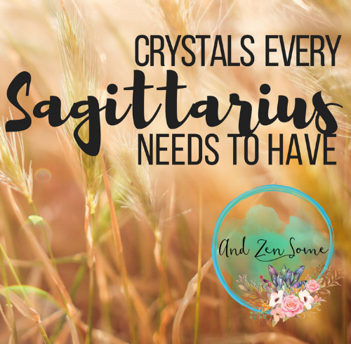 Find out which healing stones are perfect for your zodiac sign, Sagittarius!