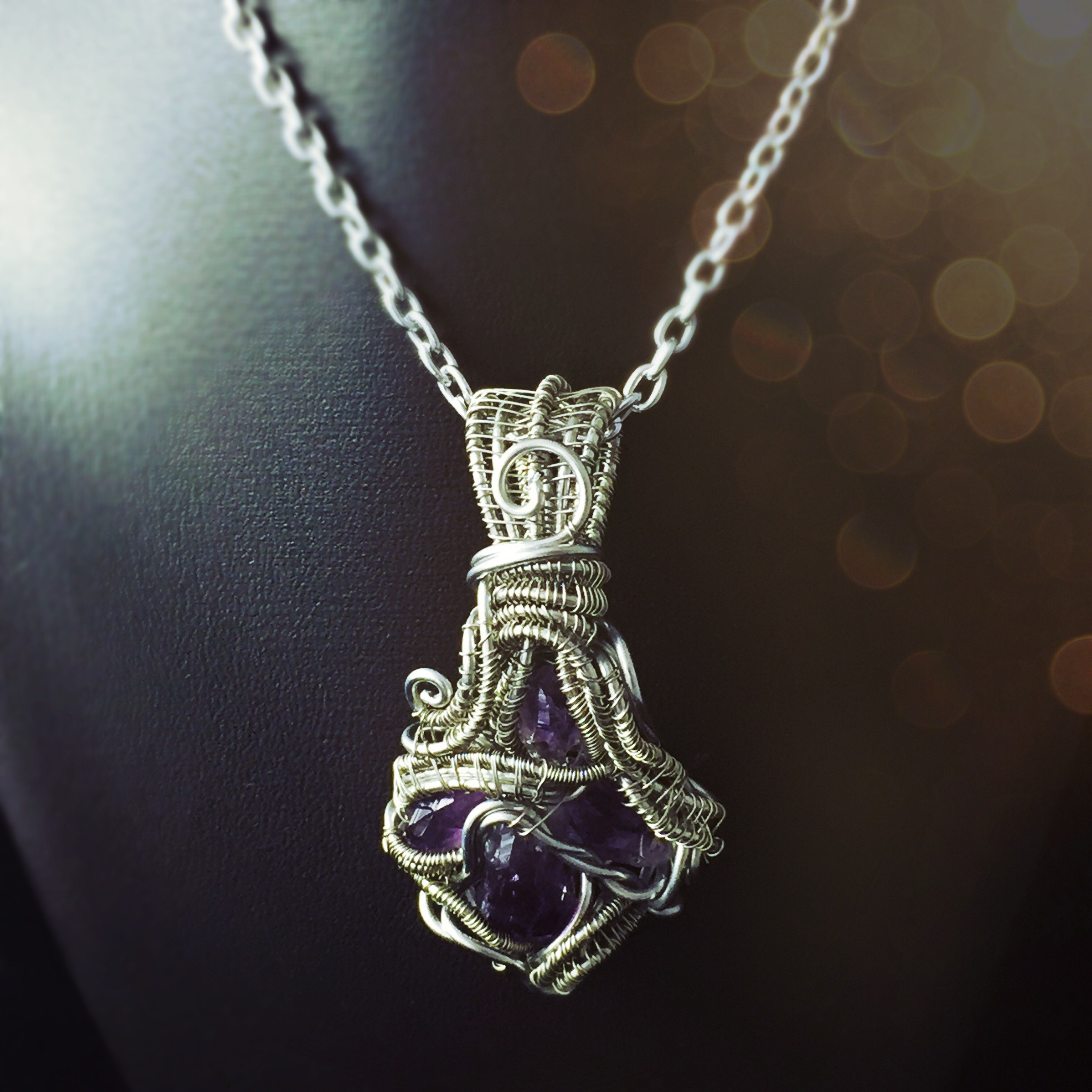 This Amethyst pendant is perfect for Sagittarians who want to tap into their knowledge. Grab it here!