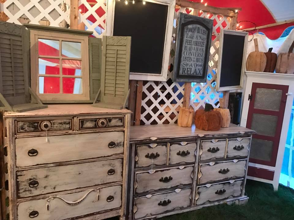 Some of Tammy's beautiful furniture! Photo from  Facebook