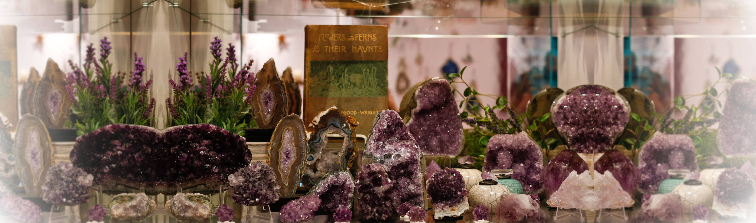 Give me ALL the Amethyst! Photo  here.
