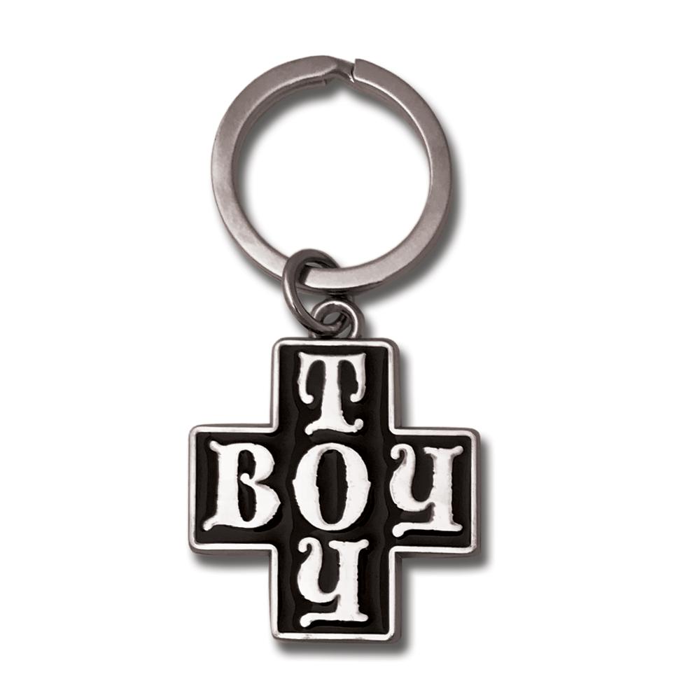 Madonna Boy Toy Enamel Keychain- by waxoffdesign