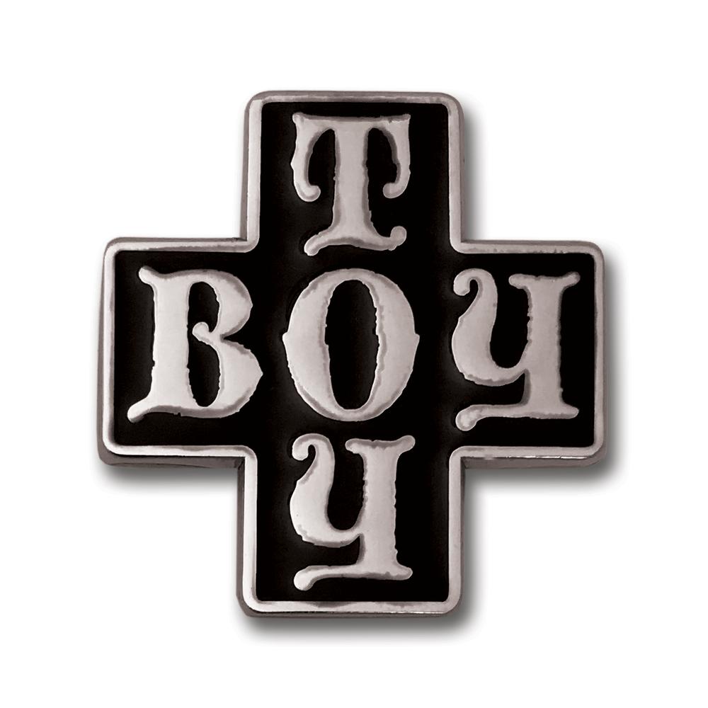 Madonna Boy Toy Enamel Pin- by waxoffdesign