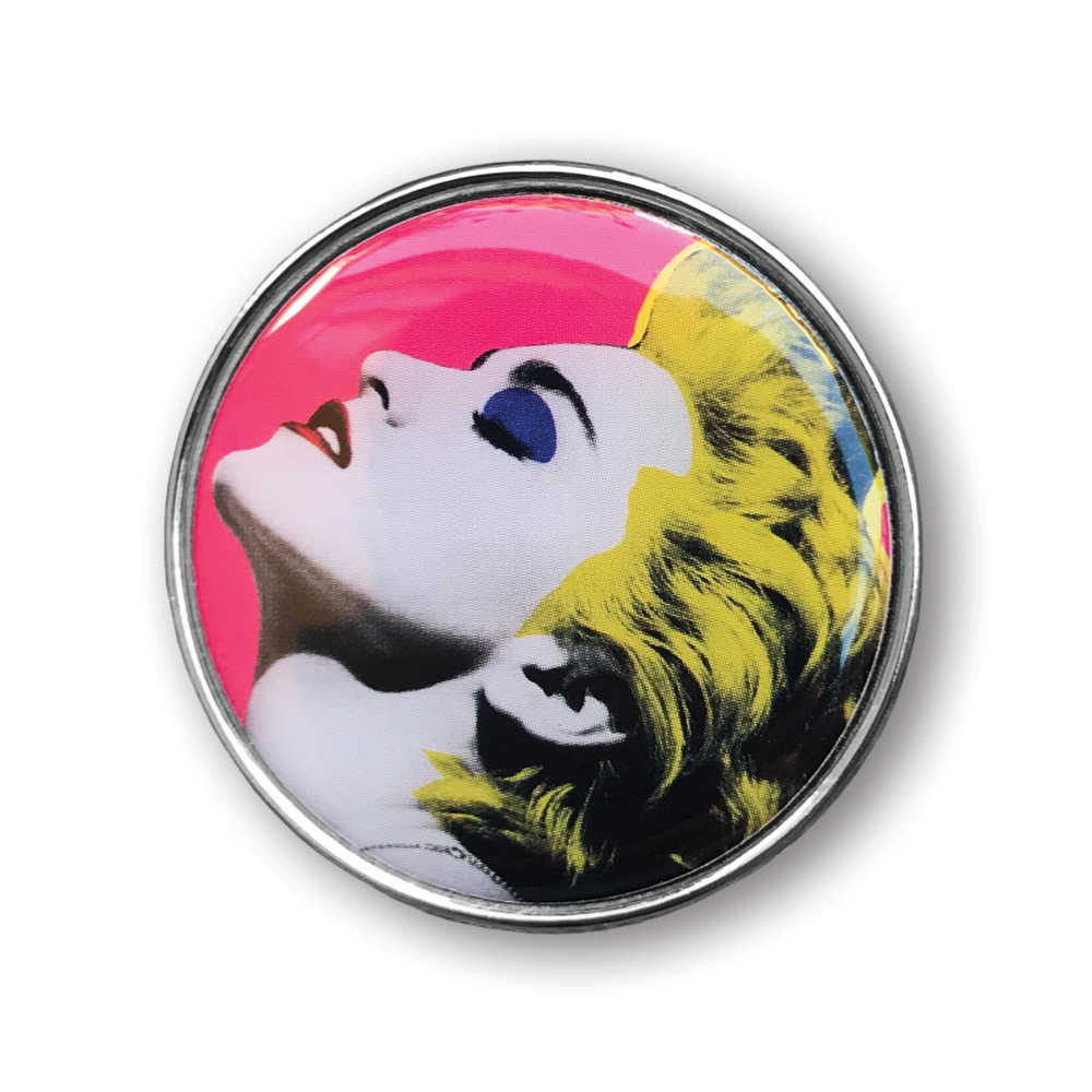 Madonna Pop Art Pin Set- by waxoffdesign